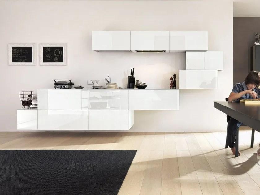 Cucina componibile laccata lineare 36E8  Cucina lineare