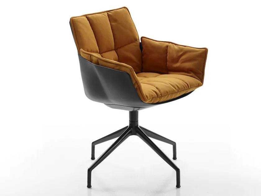 HUSK   Stuhl auf fixem Fußgestell By B&B Italia Design ...