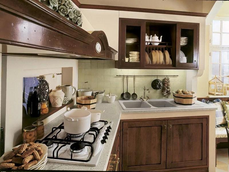 Combinazioni di colori per la camera da letto. Cucina Lineare Su Misura In Noce Arte Povera Martini Interiors