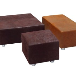 Leather Vs Fabric Sofa India Room And Board Hess Review Upholstered Ottoman By Kff
