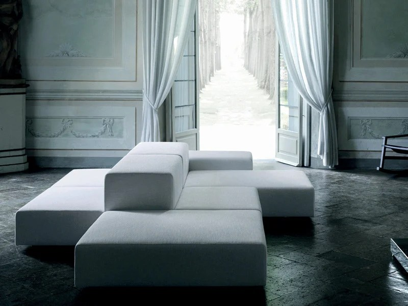 wall sofa interior design ideas for living room with brown extra by divani piero lissoni sectional removable cover
