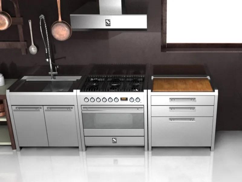 Cucina  lavello in acciaio inox SINTESI  Cucina in