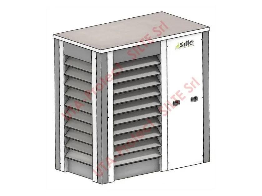 Isolamento acustico per gruppi frigo  condizionatori UTA
