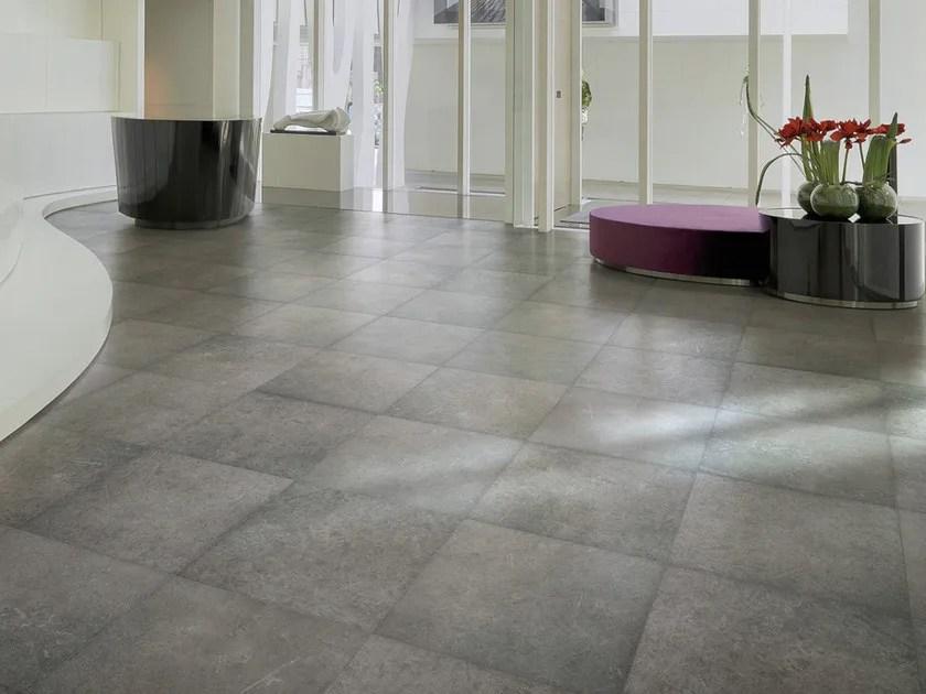 Pavimento in gres porcellanato effetto pietra NORDIK