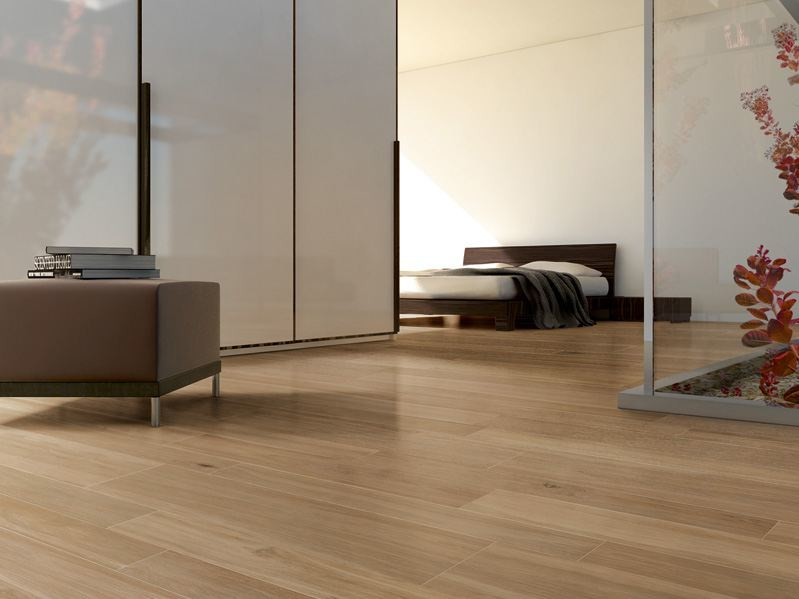 porcelain stoneware flooring with wood