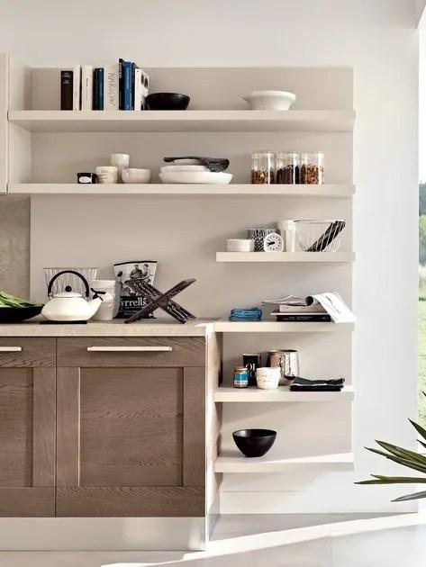 Cucina lineare in legno GALLERY  Cucina lineare  Cucine Lube