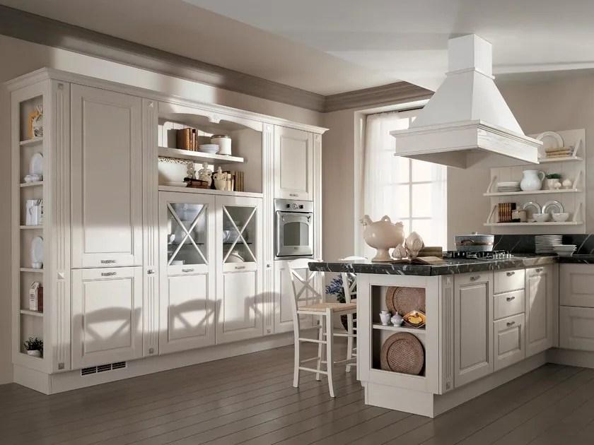 Cucina laccata in legno massello AGNESE  Cucina  Cucine Lube