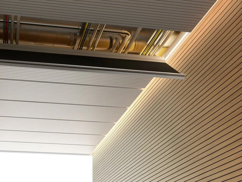 Intelaiatura ed accessori per controsoffitto EASY ACCESS By FANTONI design Eri Goshen