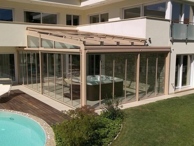 Veranda in alluminio e vetro Veranda  FRUBAU