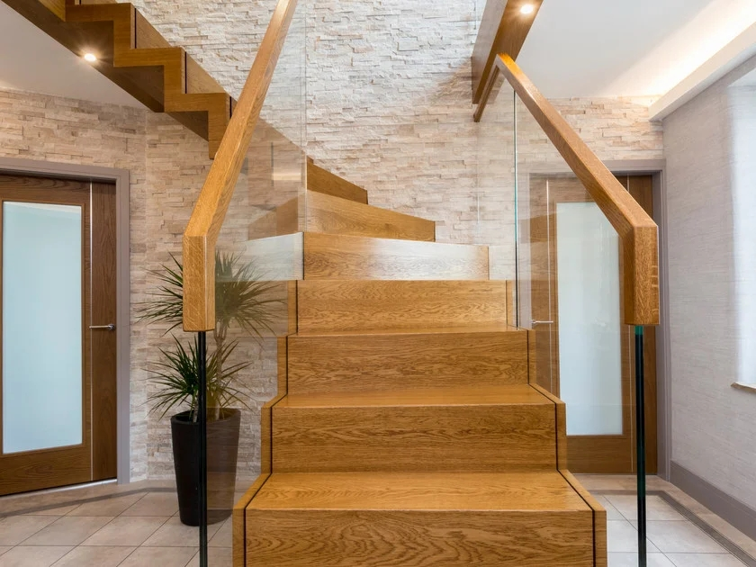 Wooden Open Staircase Zig Zag Royal Zig Zag Collection By   Zig Zag Staircase Design   Stringer   Dual Staircase   Chain Staircase   Sawtooth   Steel