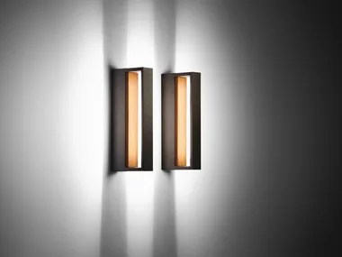 cool wood outdoor wall lamp by simes