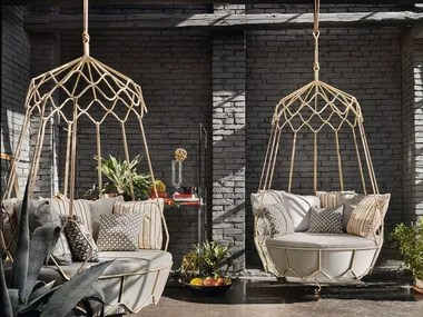 swing chair with stand malaysia luxury massage garden hanging chairs outdoor furniture archiproducts steel gravity