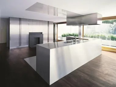 stainless steel kitchen cabinet granite top kitchens archiproducts inx