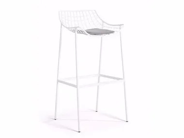 chair mesh stool world market adirondack chairs stools tables and archiproducts high steel with footrest summer set