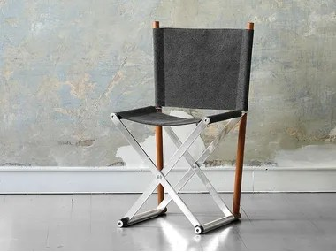 folding chair desk victorian accent chairs archiproducts fabric x elle