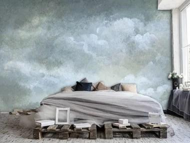 Progettate le loro pareti con colori e motivi rilassanti e sensuali per il corpo e la mente. Carta Da Parati A Motivi Clouds Collezione News By Creativespace