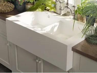 corian kitchen sinks ceramic floor tiles archiproducts 2 bowl sink salty