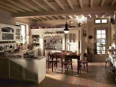 La cucina in stile country ricorda la classica cucina di campagna, dove sono privilegiati i materiali naturali quali il legno, il rame,. Country Style Fitted Kitchens Archiproducts