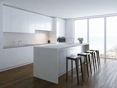 ceramic kitchen top installing backsplash materials worktops archiproducts sintered worktop with concrete effect village
