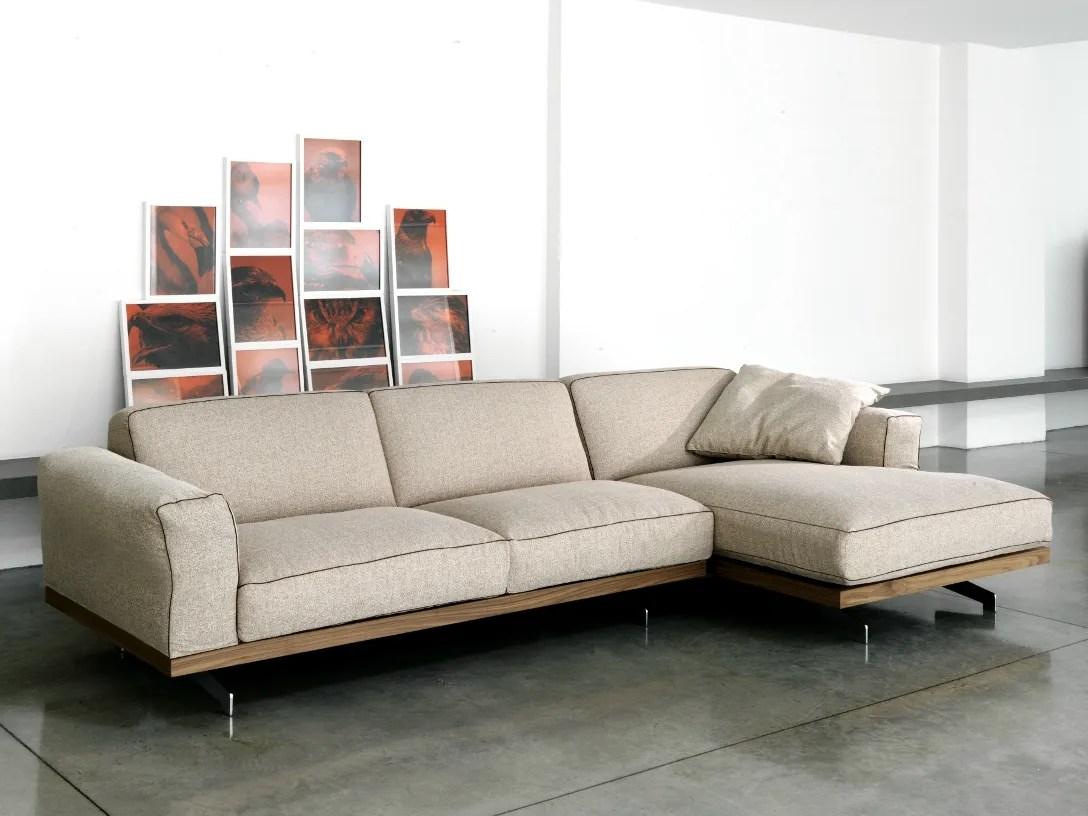 470 FANCY Divano con chaise longue by Vibieffe design Gianluigi Landoni