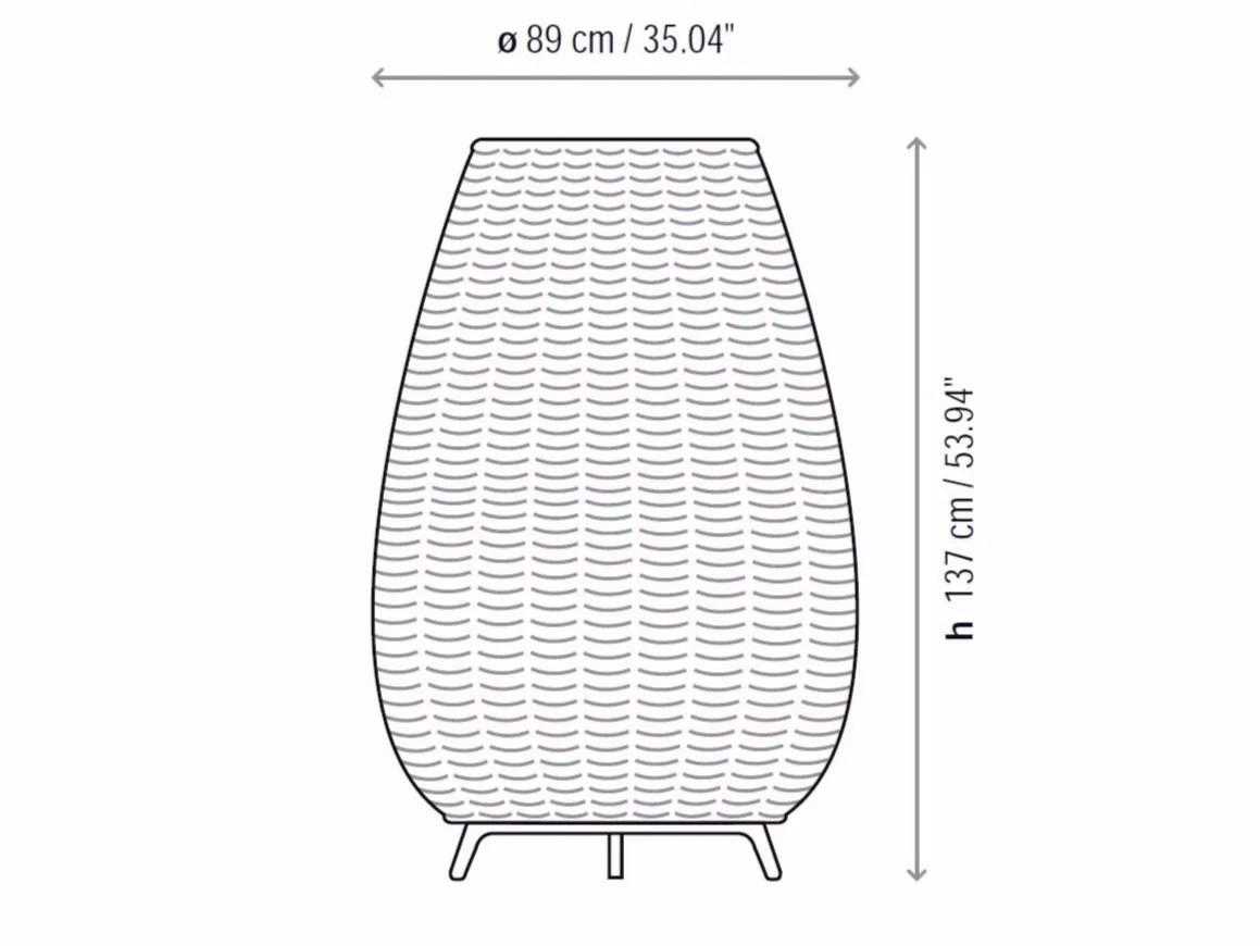Floor Lamp Amphora 03 By Bover Il Luminacio Amp Mobiliario