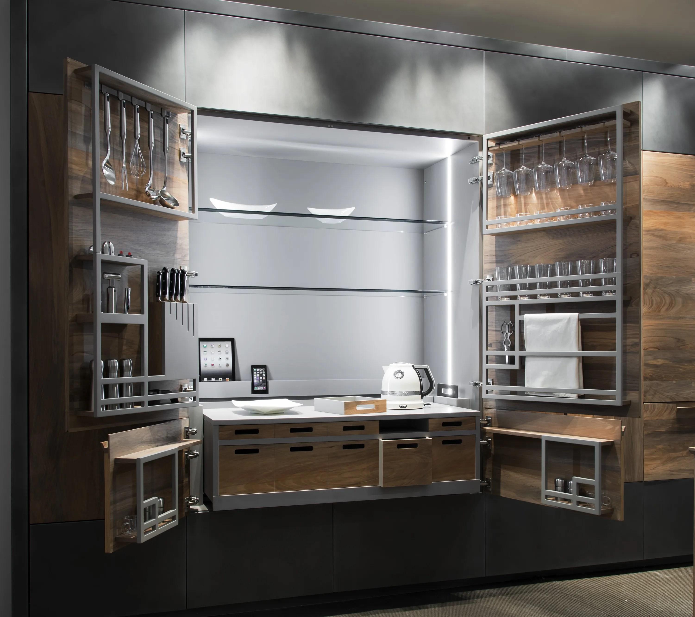 Hideaway kitchen unit CHEF DE CUISINE By TONCELLI CUCINE