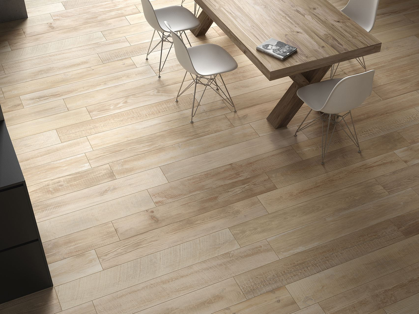 CROSS WOOD Flooring Cross Wood Collection by Panaria Ceramica