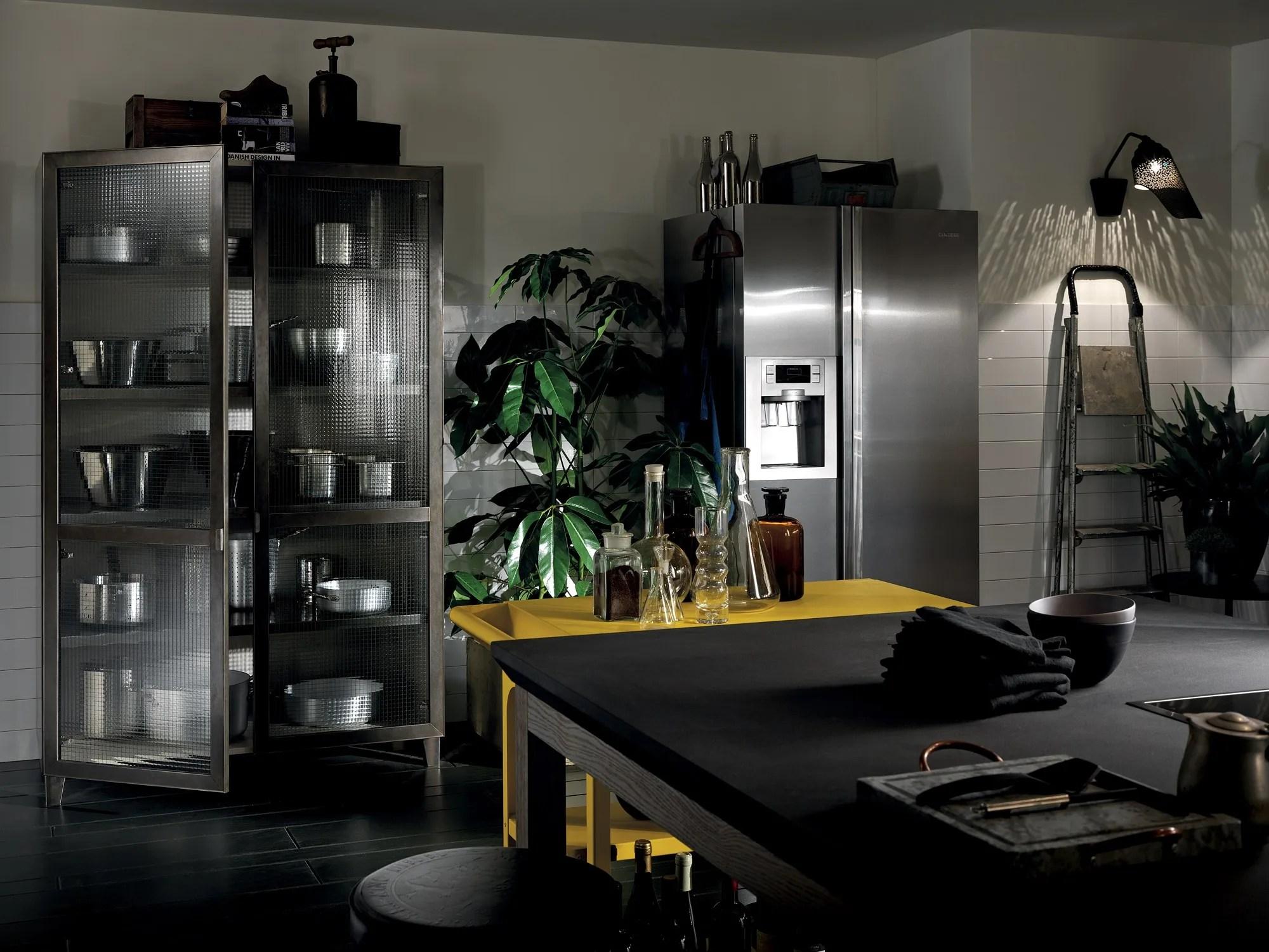 Cucina componibile DIESEL SOCIAL KITCHEN Linea Scavolini