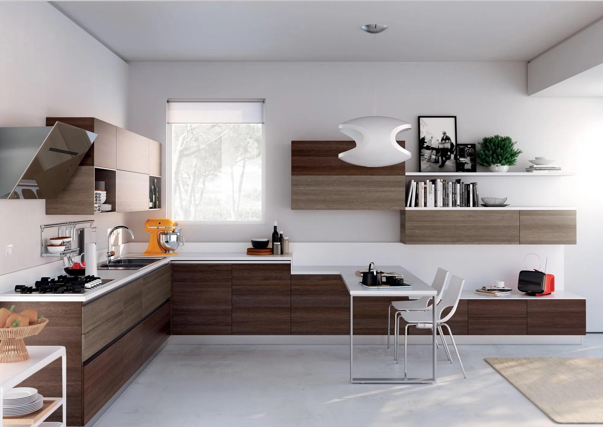 Cucina componibile EVOLUTION Linea Scavolini Basic By