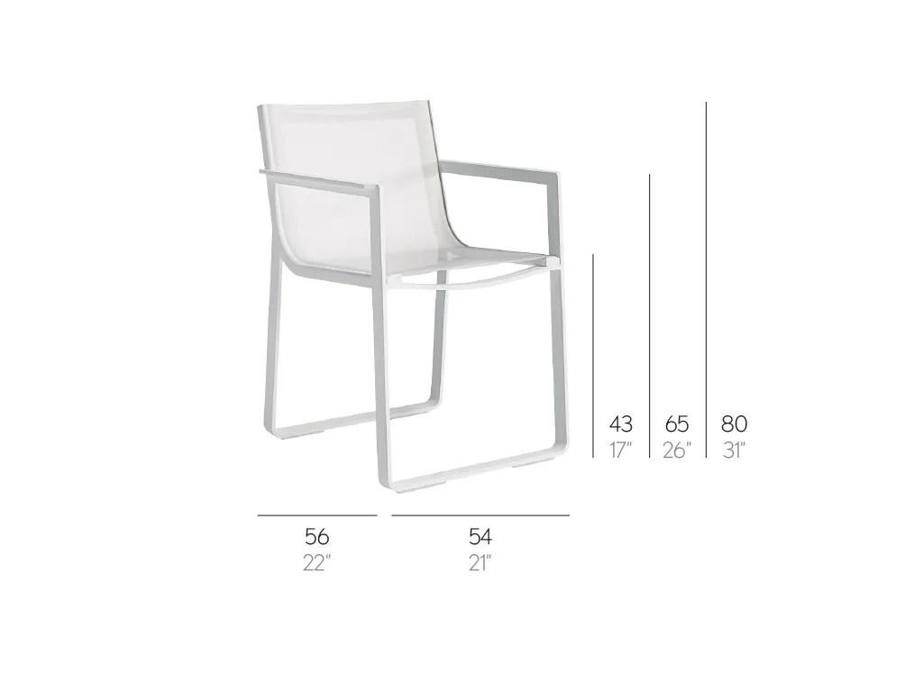 gandia blasco clack chair retro lounge chairs uk flat textil with armrests by design mario ruiz dimensions