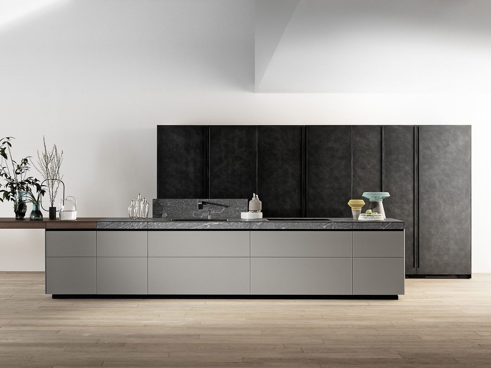 GENIUS LOCI Kche mit Kcheninsel by VALCUCINE Design