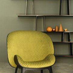 Fabric Outside Chairs Inexpensive Office Bergere Armchair Hug By Perrouin Design Jean Marc Gady