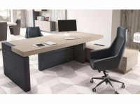 JERA | Office desk with shelves By Las Mobili