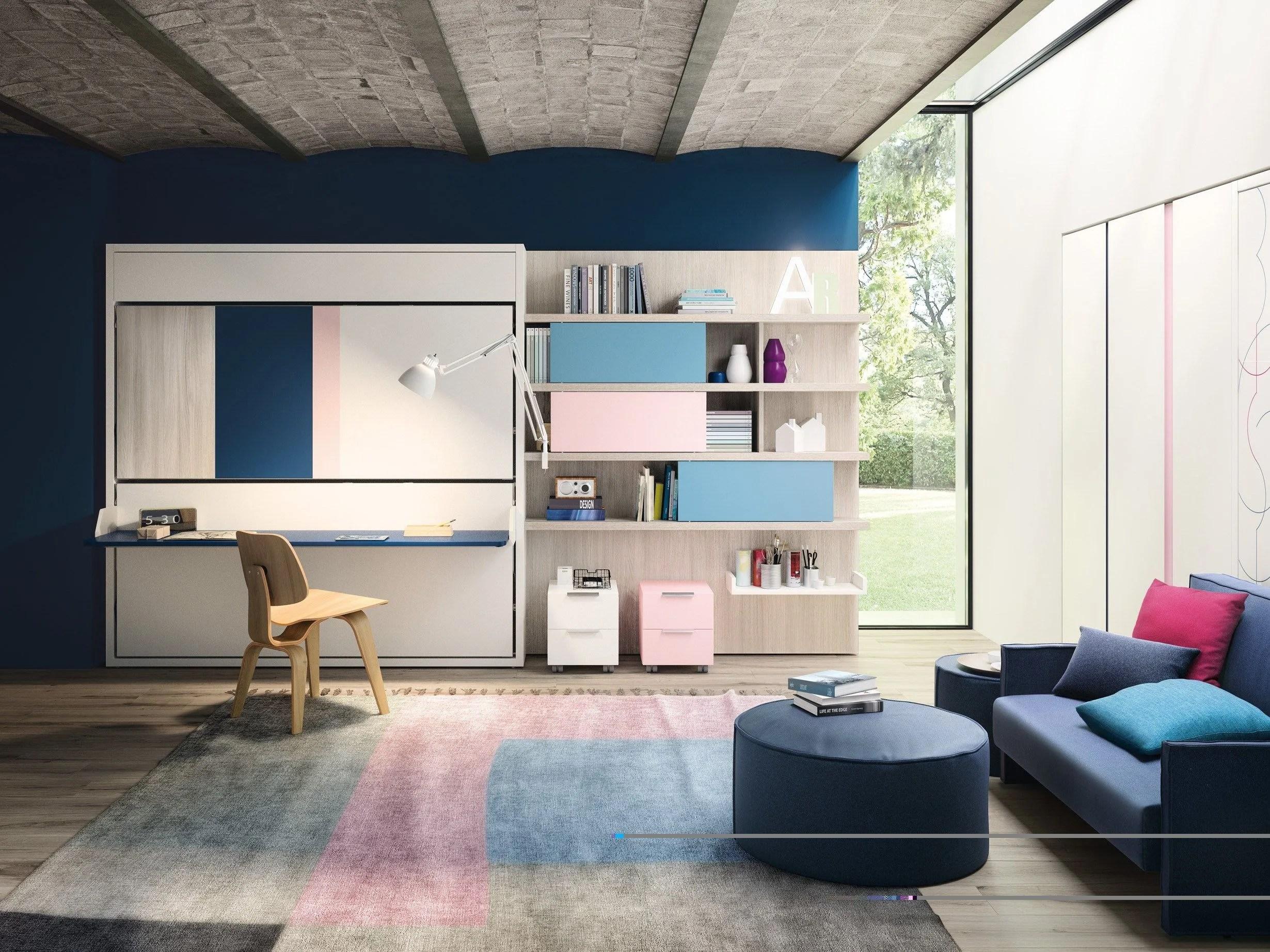 clei sofa bed raymour and flanigan natuzzi sofas kali duo board parete attrezzata by