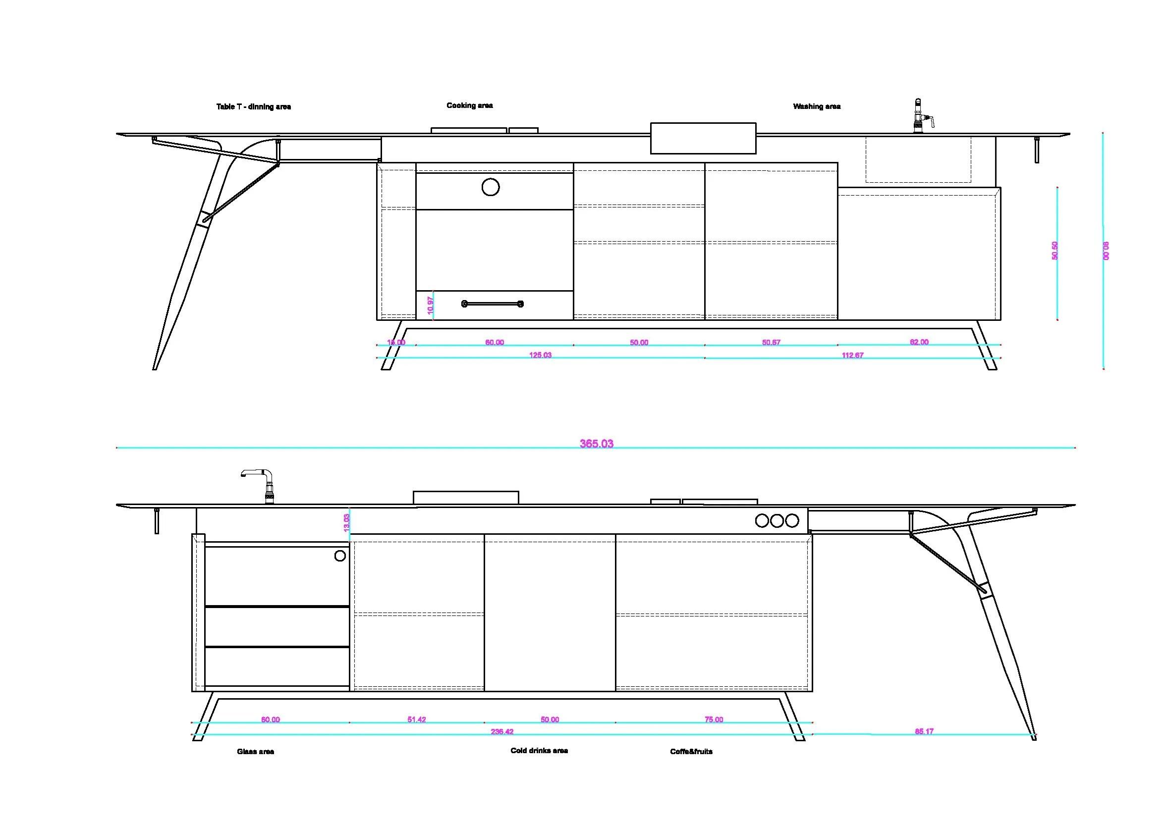 Corian® kitchen KITCH' T ® by dsignedby design Irena