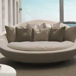 Three Sixty Round Sofa Lounger High End Sleeper Divano Rotondo Lacoon Island By Désirée Design Jai Jalan
