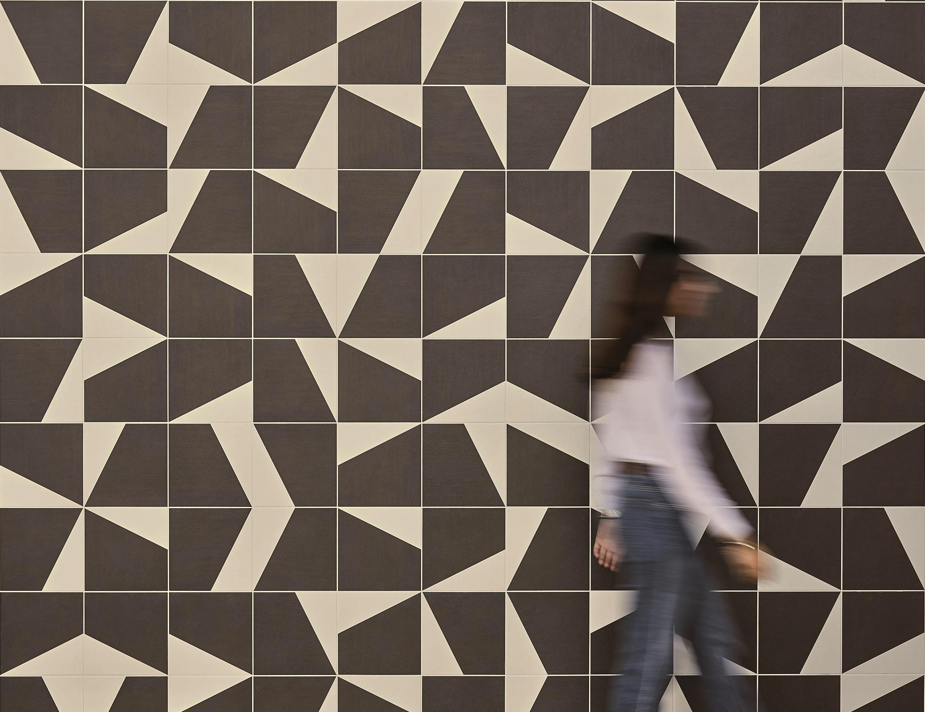 Pavimentorivestimento in gres porcellanato smaltato PUZZLE Collezione Puzzle by MUTINA design