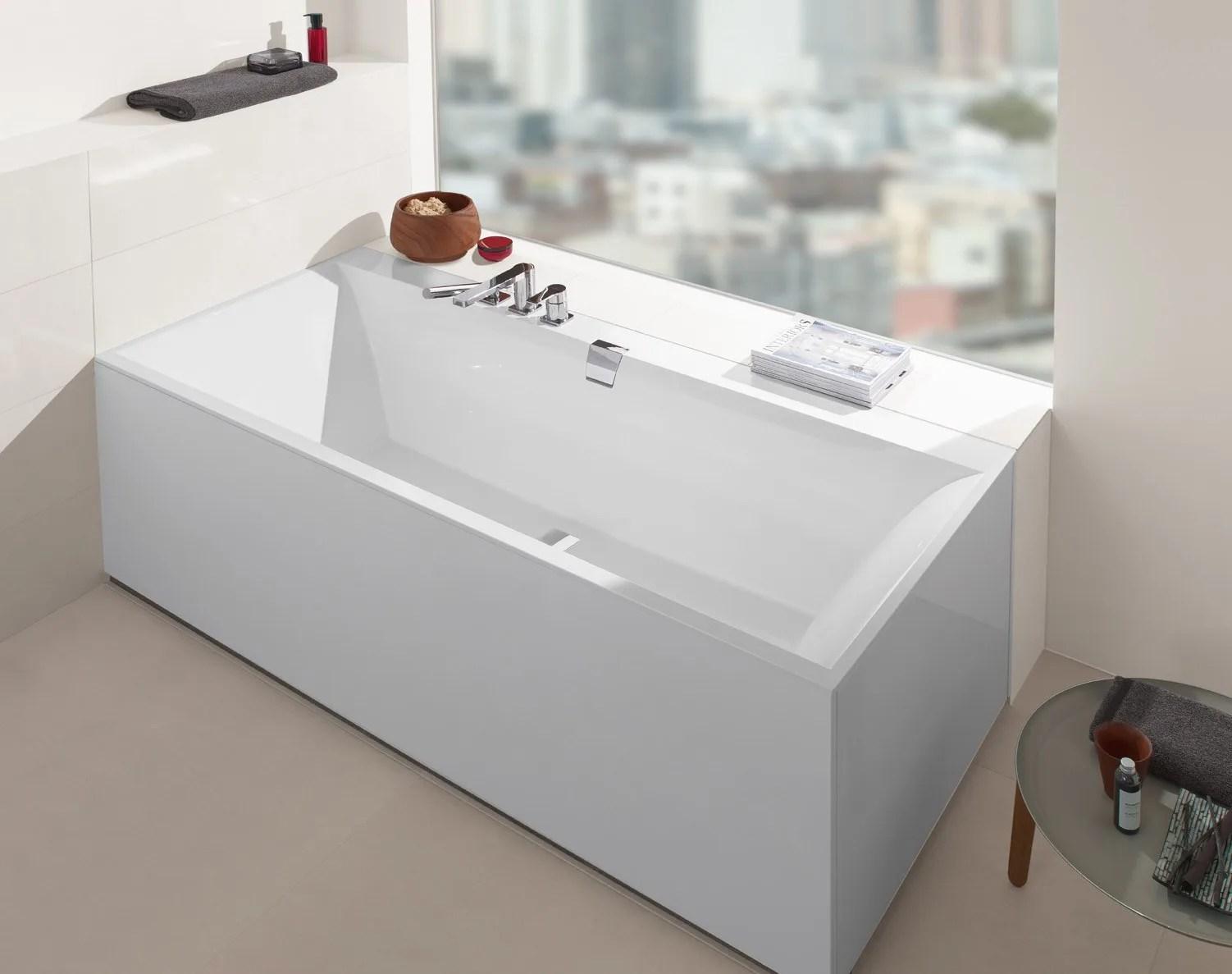 SQUARO EDGE 12 Bathtub by Villeroy  Boch