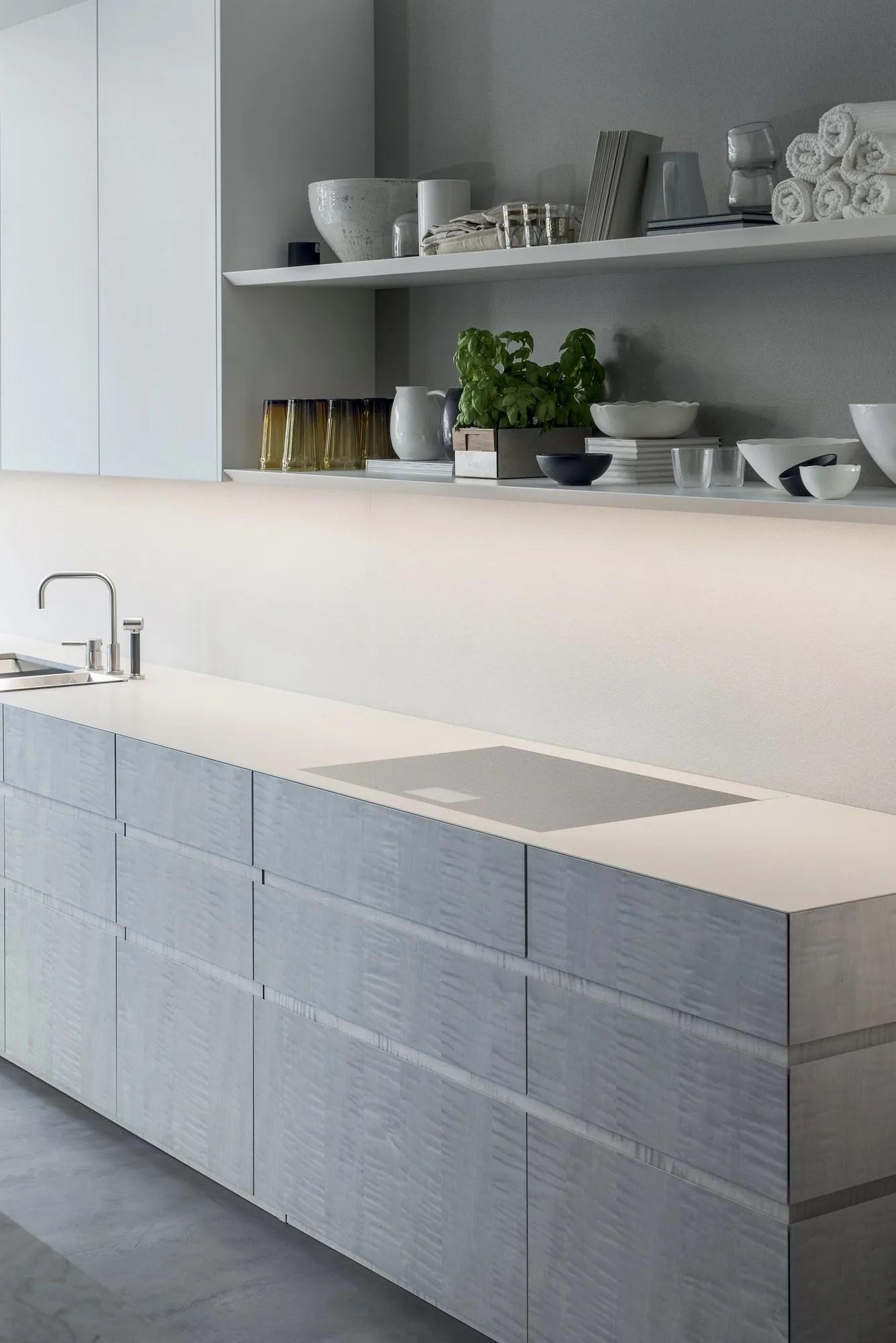 T45 EVO  K6  Linear kitchen By TM Italia Cucine design