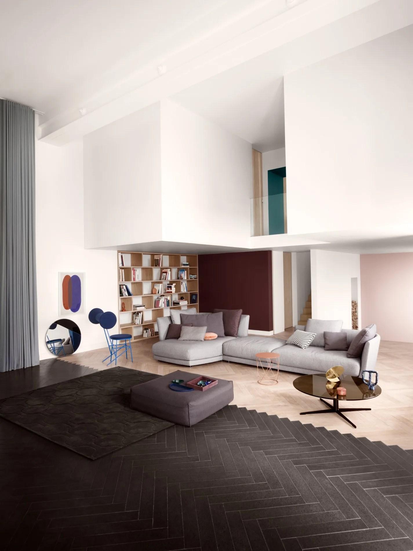 best contemporary sectional sofas udinese vs atlanta sofascore tondo | modular sofa by rolf benz design sebastian labs