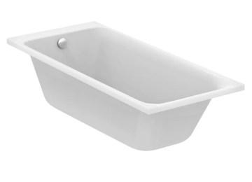 Vasca Da Bagno Rettangolare : Vasca da bagno ideal standard le vasche a parete in materiali