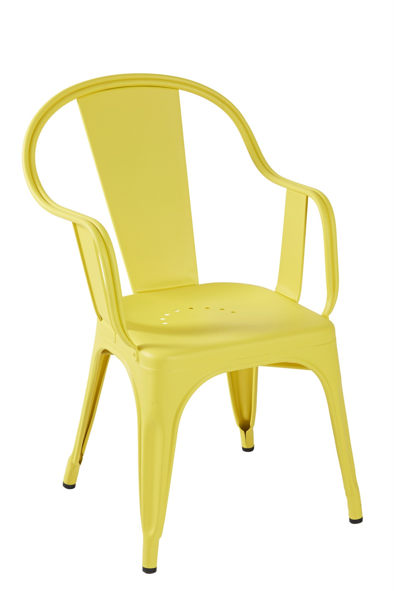 steel chair specification upholstered dining with acrylic legs c metal by tolix design xavier pauchard