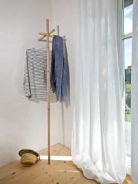 Wall-mounted solid wood coat rack EKLENAH by kommod