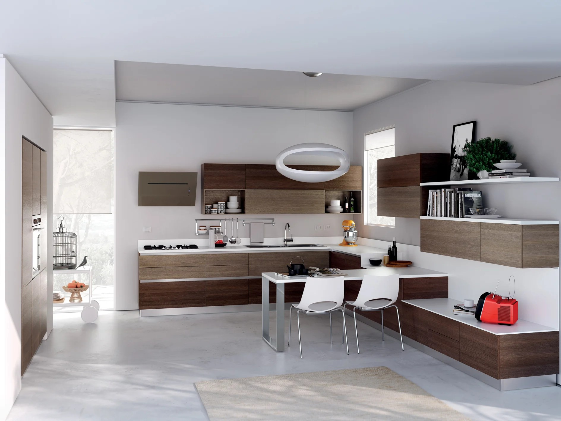 Cucina componibile EVOLUTION Linea Scavolini Basic By Scavolini