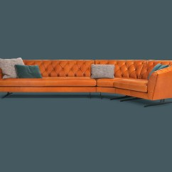 Euro Sofa Mondo Gray Living Room Ideas New Kap Divano In Pelle Collezione By Borzalino