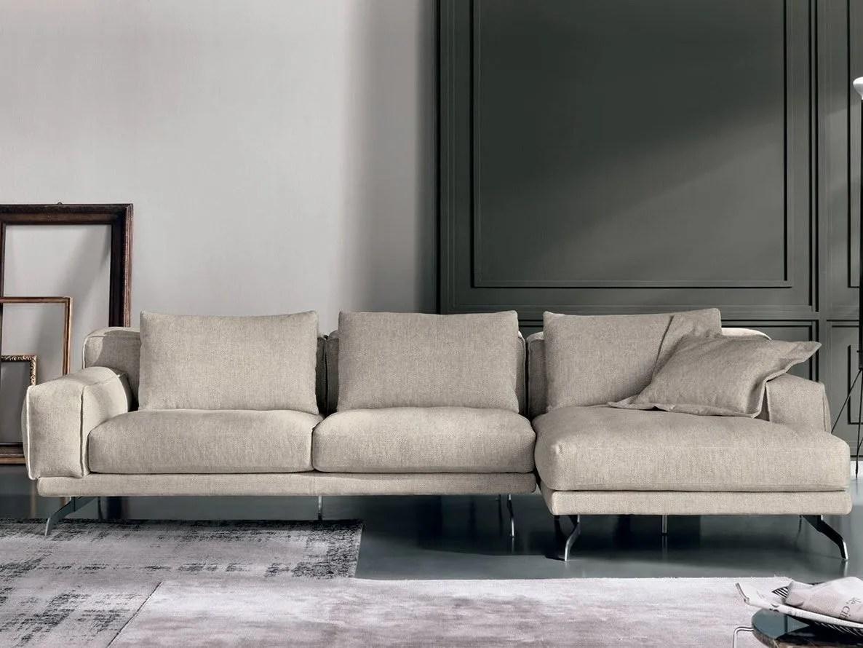 NANDO Divano con chaise longue Collezione Nando by Max Divani