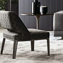 Low Back Chairs For Concerts 3 In One High Chair Plans Owens Armchair By Minotti Design Rodolfo Dordoni