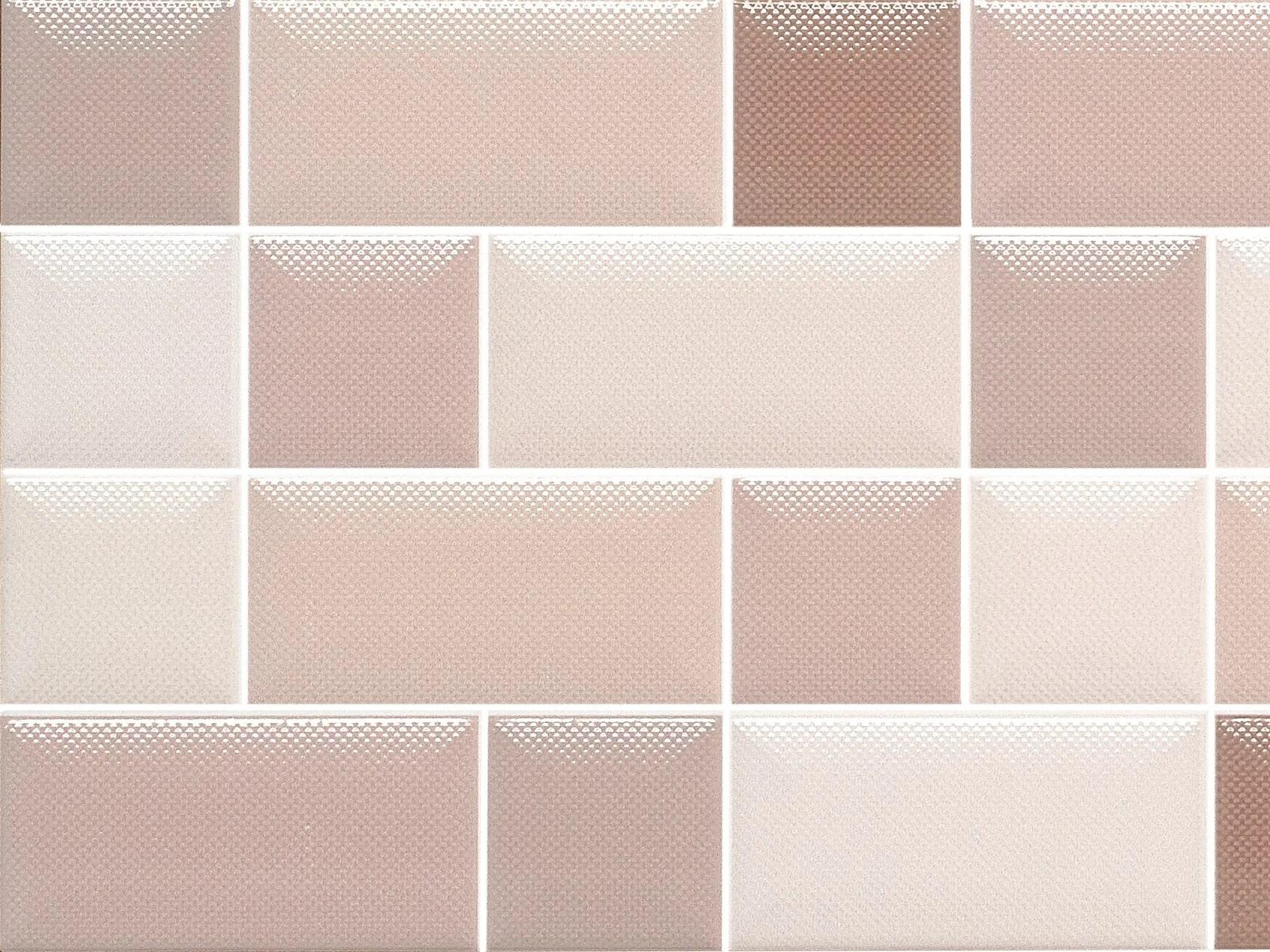 Rivestimento in ceramica a pasta bianca effetto tessuto DIARIO by CERAMICA SANTAGOSTINO