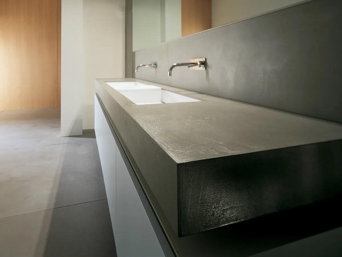PREFINITO CEMENTO Washbasin countertop by Moab 80