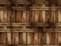 Wood effect outdoor wallpaper WOODEN by Wall&dec